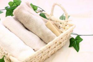 柔らかいタオル