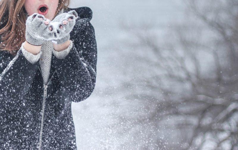 ママ向け雪遊び用ウェア