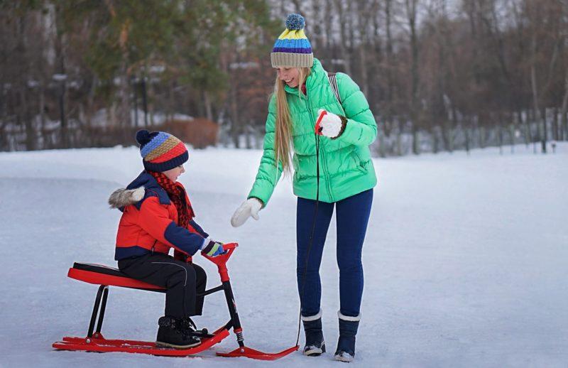 初めての雪遊び用ウェア、ママ&キッズ用