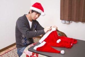 クリスマスプレゼントをサンタから頼まれたと渡す