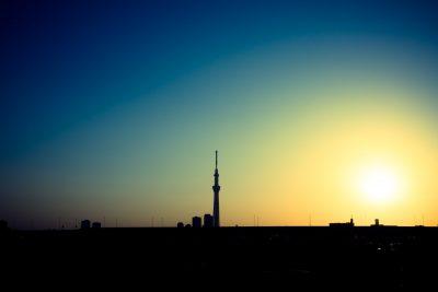 東京近郊の2021年初日の出の時間