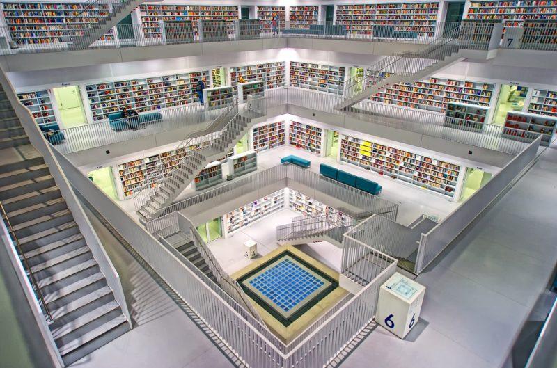 児童館、図書館